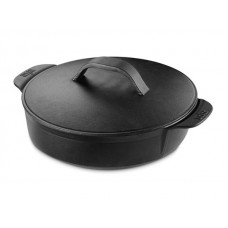 Weber Gourmet BBQ system - litinový HRNEC s poklicí