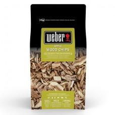 Udící dřevěné lupínky Weber JABLOŇOVÉ DŘEVO