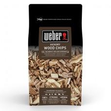 Udící dřevěné lupínky Weber HICKORY bílý ořech