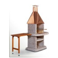 Stolek odkládací dřevěný KOMFORT hnědý